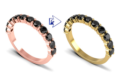 Change or replace your jewelry product color for 10 image