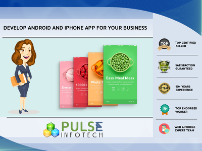 Develop Android and Iphone app for your business