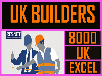Give you 8000  UK builders contact