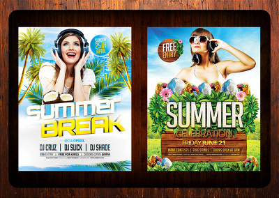 Gorgeous Event Flyer, Club Flyer, party Flyer design for $25