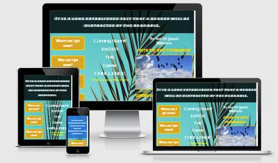 Design Eye-catching Responsive Website or Landing Page