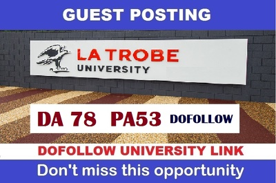 Guest post on Latrobe university blog (latrobe.edu.au) ,DA78