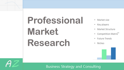Do a quality Market Research of Industry/Product of your choice.