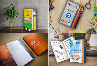 Create Unique Tabbed Brochure Design