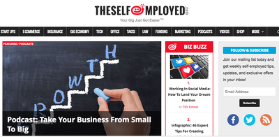 Publish a guest post on Theselfemployed.com - Dofollow