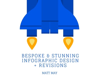 Design and Create a Bespoke and Stunning Infographic + Revisions