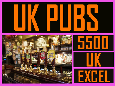 Give you 5500 pubs contacts in uk