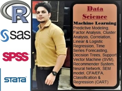 Work all your Data Analysis projects using R , SAS, SPSS, STATA