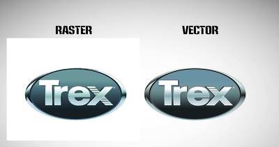 Covert raster images into vector format