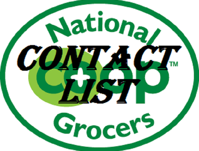 Deliver a contact list to over 100 retail food co-ops in USA