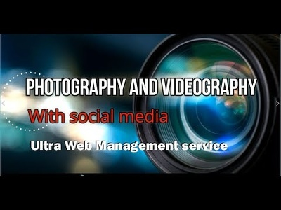Be your all-in-one videographer, photographer, social media pro