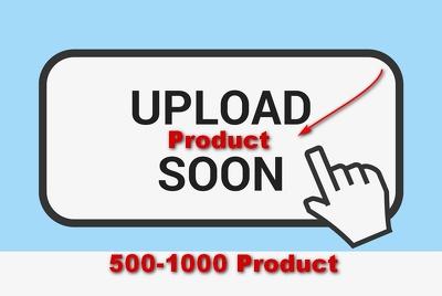 Upload 500 products to Opencart,Shopify,Prestashop,Bigcommerce