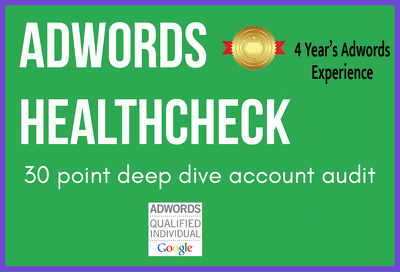 Audit Your AdWords Account & Give Expert Advice