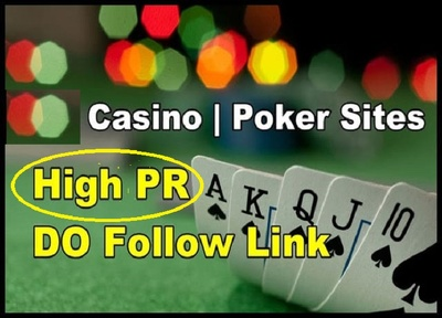 Add 20 do-follow link on my casino Websites With High DA