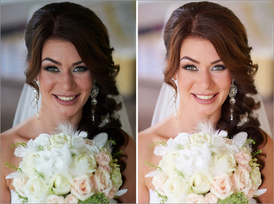 Professionally Edit & retouch 05 Wedding Photos