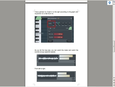 Create an online Audio production Tutorial