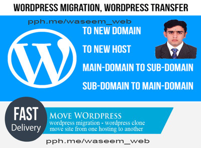 Migrate, Transfer, Clone WordPress Website