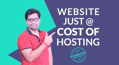 10 page mobile friendly website in WordPress+FREE WEB HOSTING