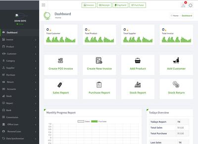 Develop inventory management system.