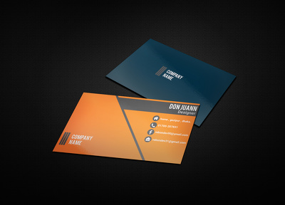 Design Stylish And Professional Business Card 1 day