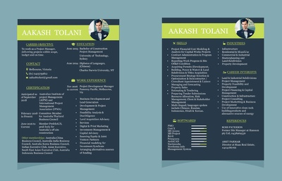 Write and design professional Non Rejectable CV for you.