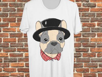 Design an original t-shirt including custom illustration