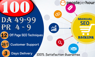 Provide 100 High Quality White Hat Manual SEO Link Building