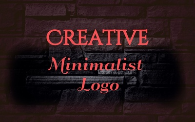 Creative Minimalist Logo Design with All Source Files