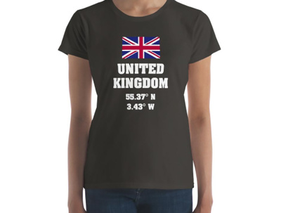 Design your Country and Flag t-shirt and prints