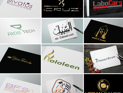 Design a unique and nice logo + Source File + Business card