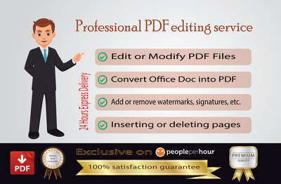 Create and Edit Fillable PDF Form for your Business