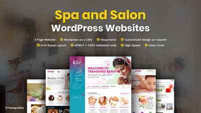 Create a WP based website for your Spa & Salon Business