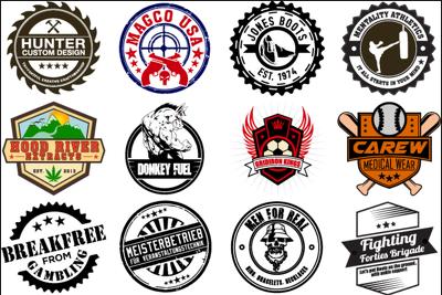 Design Badge, Retro, Hipster And Vintage Logo For You