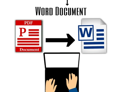Convert 20 pages of your scanned Pdf, image into word document