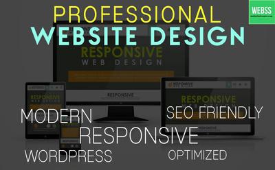 Create A Wordpress Design Or Wordpress Website