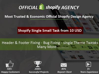 Single Shopify Small Task by Shopify Certified Expert