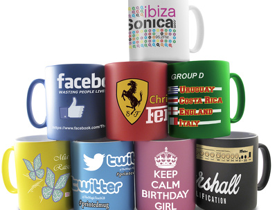 Mugs design + proof design + print ready + unlimited revisions