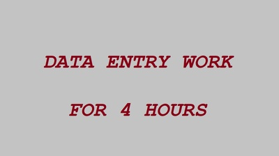 Do any type of date entry upto 500 words