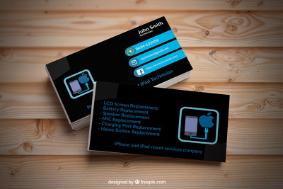 Creative and simply nice business card and flyer design