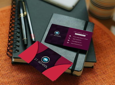 Design a professional and amazing, eye catching business card