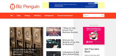 Publish a Guest Post on Bizpenguin.com DA31, PA34