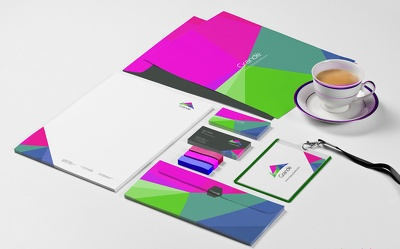Design Business Card, Letterhead And Stationary