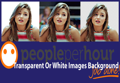 change 15 image background with white or transparent
