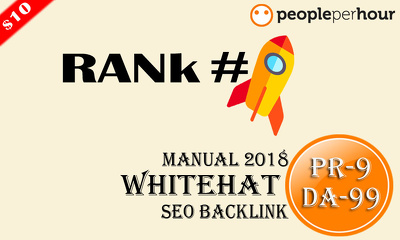 Help You Rank Top On Google With PR-9,DA-99 25 Guest Blogs