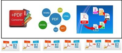 Do PDF conversion, edit, fill-able etc.