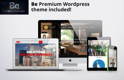 Create a WordPress Responsive modern Website using BeTheme