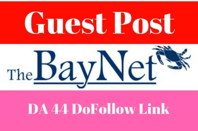 Publish A Guest Post With Dofollow Link On TheBayNet. com