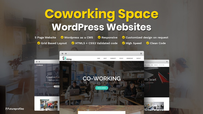 Create a WP based website for your Co-Working Space