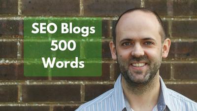 500 Words of SEO Blog Content with Links & Meta Description