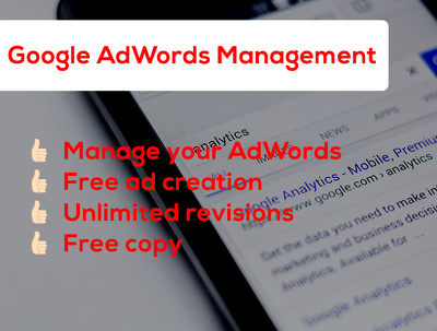 Manage your Google AdWords account for eight hours